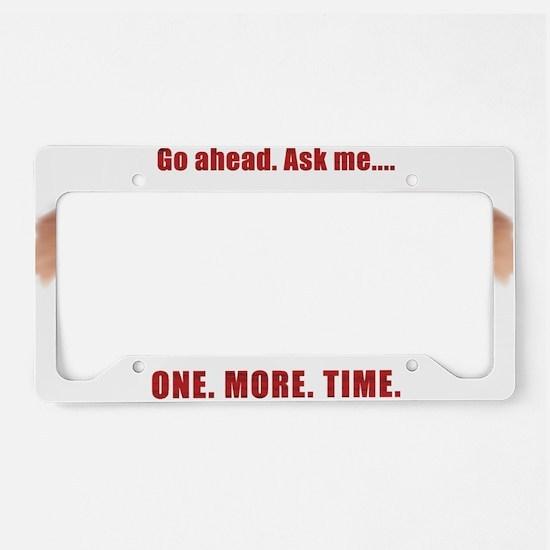 Evil Eye License Plate Holder