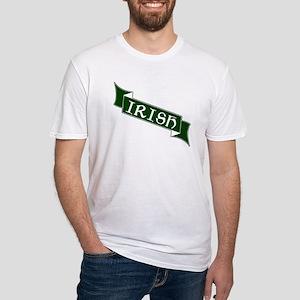 Irish Banner Fitted T-Shirt