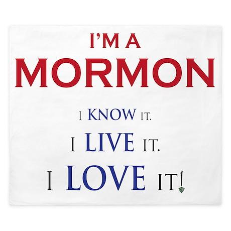 Im a Mormon King Duvet