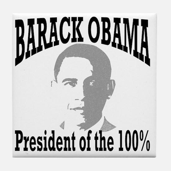 Barack Obama: Tile Coaster