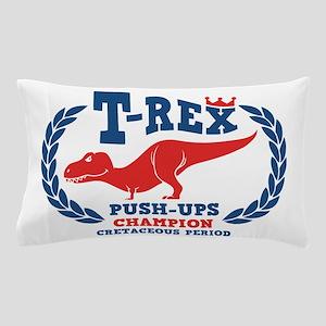 t-rex-push-ups-LTT Pillow Case