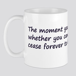Peter Pan quote Mug