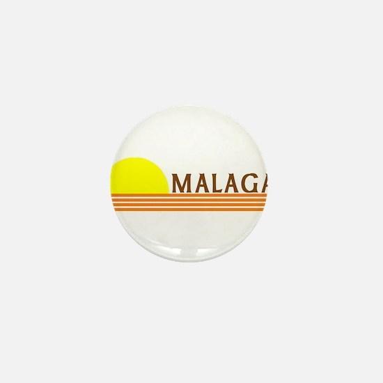 Malaga, Spain Mini Button
