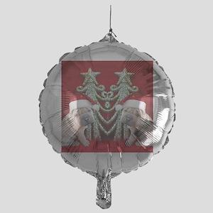 Christmas shar pei Mylar Balloon