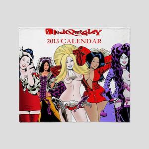 Calendar 1 Throw Blanket