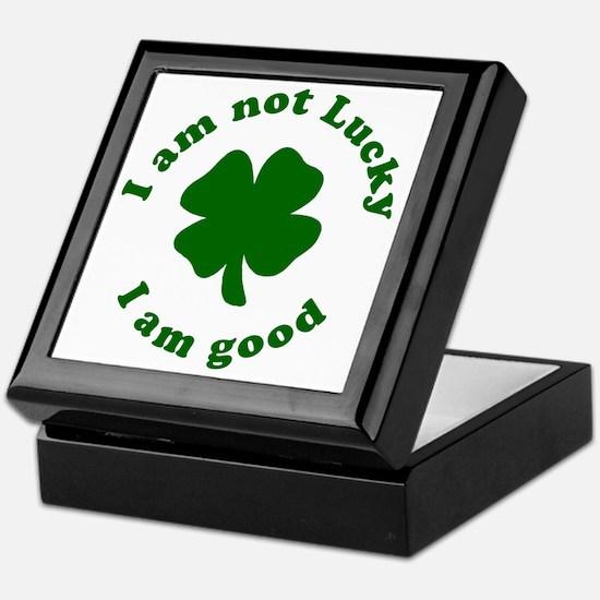 Not-Lucky-Good Keepsake Box