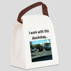 Parking douchebag Canvas Lunch Bag