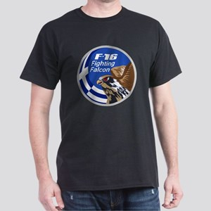 F-16 Fighting Falcon - Greece #1 Dark T-Shirt