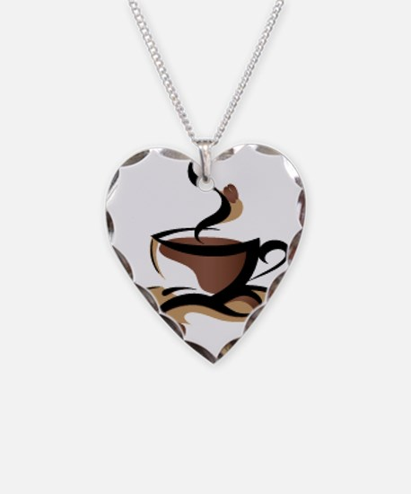 Coffee Time Necklace