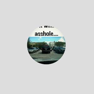 Parking asshole Mini Button