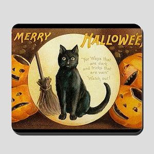 MerryHWGreetCard-a Mousepad