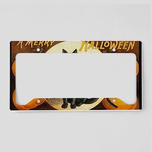 MerryHWGreetCard-a License Plate Holder