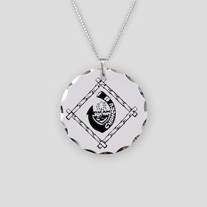Guam Chamoru Necklace Circle Charm