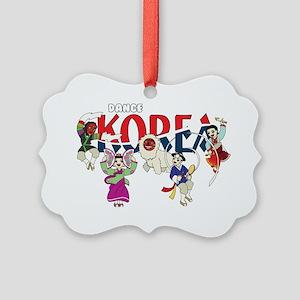 Dance Korea Picture Ornament