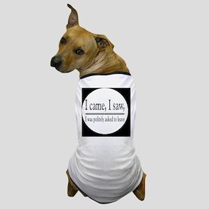 camesawbutton Dog T-Shirt