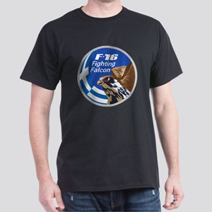 F-16 Fighting Falcon - Greece Dark T-Shirt