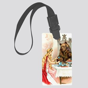 Fairy Tale Collection: Beauty  t Large Luggage Tag