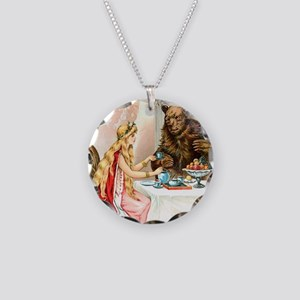 Fairy Tale Collection: Beaut Necklace Circle Charm