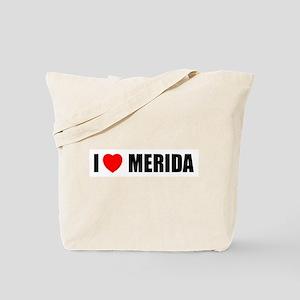 I Love Merida, Spain Tote Bag