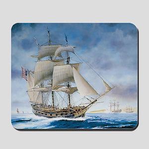 Under sail Mousepad