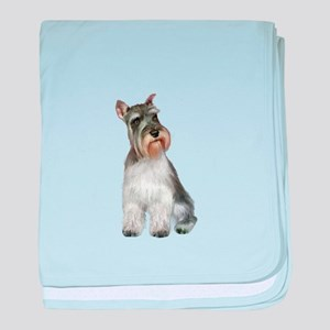 Schnauzer (11C) baby blanket