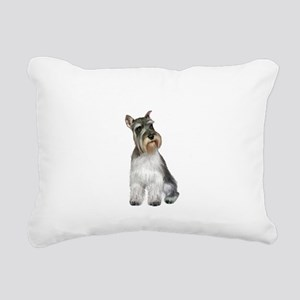 Schnauzer (11C) Rectangular Canvas Pillow