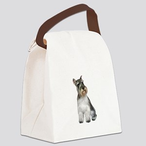 Schnauzer (11C) Canvas Lunch Bag