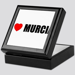 I Love Murcia, Spain Keepsake Box