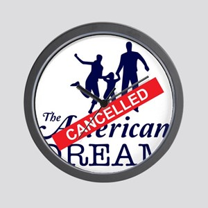 The American Dream (Cancelled) Wall Clock