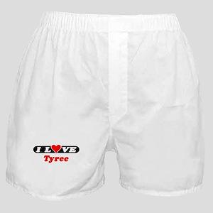 I Love Tyree Boxer Shorts