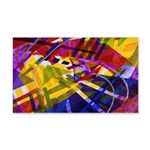 Inner Space - Abstract Rainbow 20x12 Wall Decal