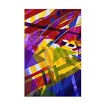 Inner Space - Abstract Rainbow Mini Poster Print