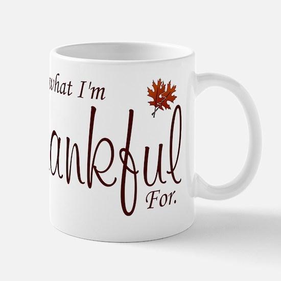 Thankful Maternity Mug