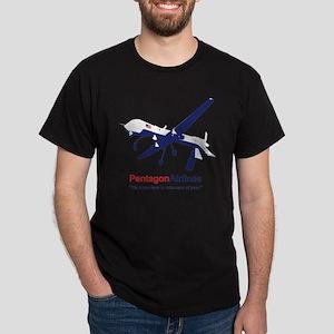 Pentagon Airlines Dark T-Shirt