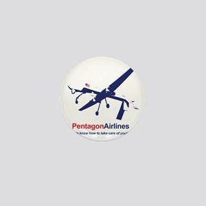 Pentagon Airlines Mini Button