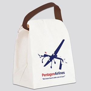 Pentagon Airlines Canvas Lunch Bag