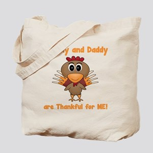 Thankful Turkey Tote Bag