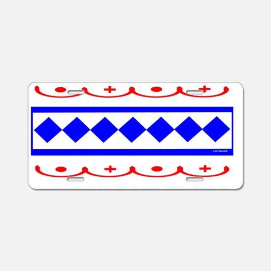 CHOCTAW INDIAN Aluminum License Plate