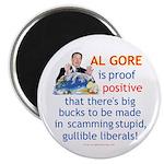 Al Gore & Gullible Libs Magnet