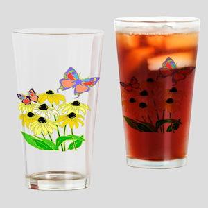 Black-eyed Susans Drinking Glass