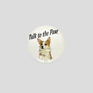 Talk to the Paw! Little Dott Mini Button