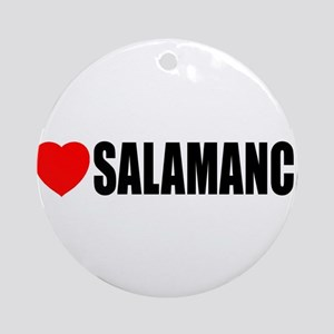 I Love Salamanca, Spain Ornament (Round)