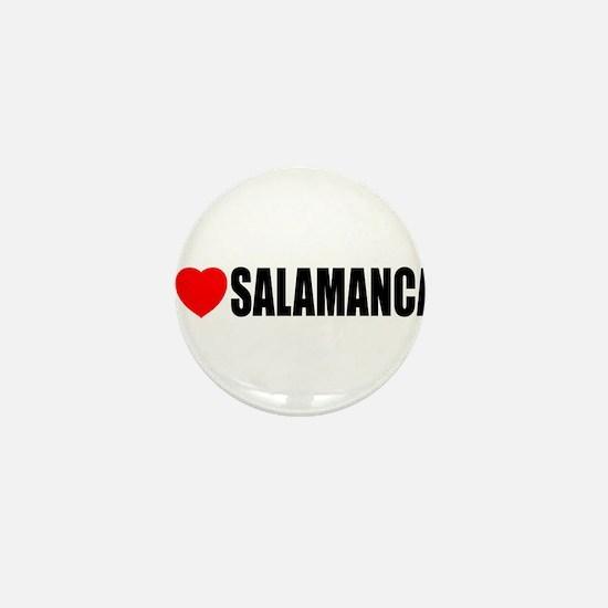 I Love Salamanca, Spain Mini Button