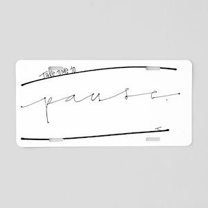 Reflect Aluminum License Plate