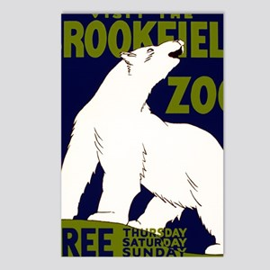 Vintage Visit the Zoo Postcards (Package of 8)