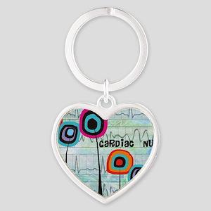 cardiac nurse blanket Heart Keychain