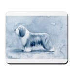 Bearded Collie Mousepad