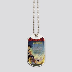 Vintage Frankenstein Horror Movie Dog Tags