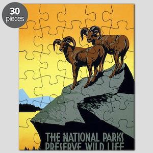 National Parks: Preserve Wild Life Puzzle