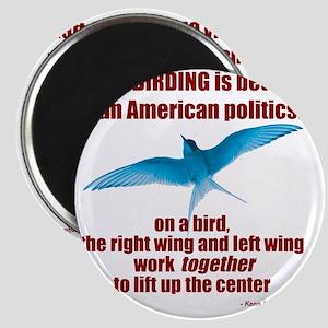 Birding vs. Politics Magnet